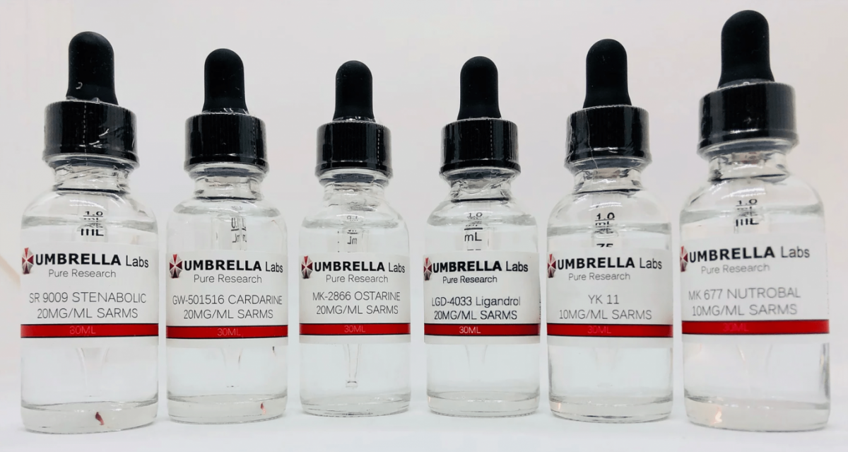UMBRELLA Labs SARMs, Offers 99+% Pure 3rd Party Lab Tested