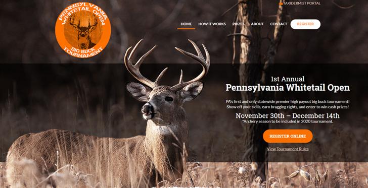 Ezmarketing Designs Website For Pennsylvania Whitetail Open Wfmj Com